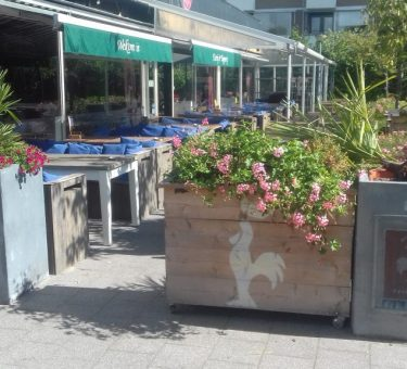 foto terras Café 't Haantje