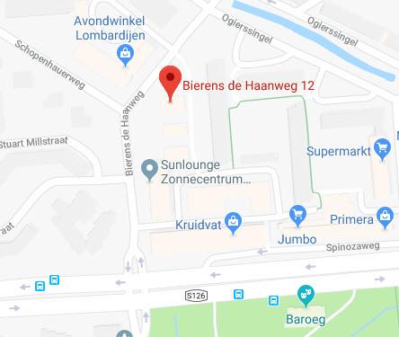 Klik op de kaart en gebruik Google Maps voor een routebeschrijving.