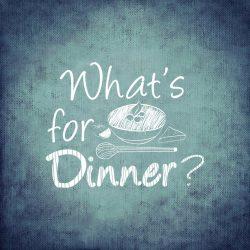 schoolbord dinner pixabay