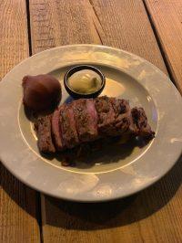 Wildzwijn steak